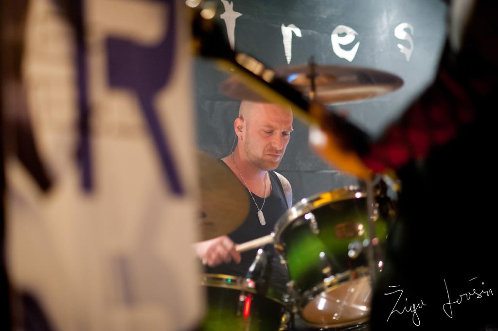 JTR SICKERT drummer mc pekarna maribor slovenija