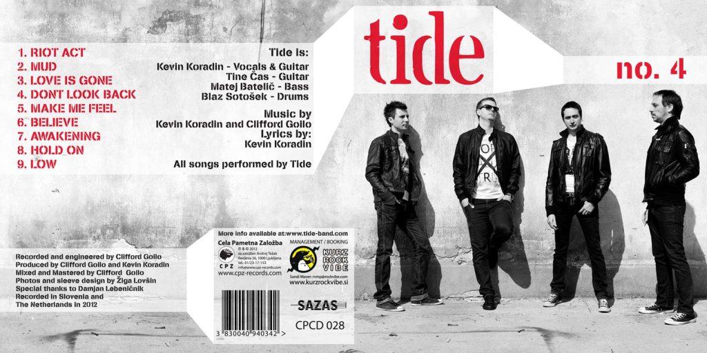 CD oblikovanje TIDE